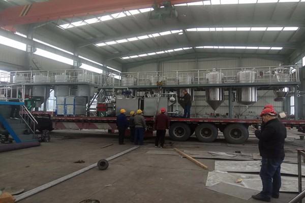 新闻:合山牡丹籽炼油设备工艺流程介绍